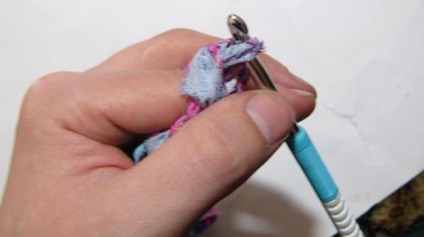 Приёмы вязания крючком