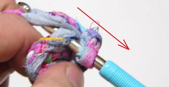 Как вязать крючком для начинающих круглый коврик