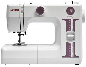 JANOME 406i, электромеханическая швейная машина
