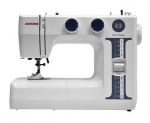 JANOME 412 i STILE, электромеханическая швейная машина