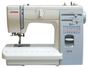 JANOME 5519 (419), электромеханическая швейная машина