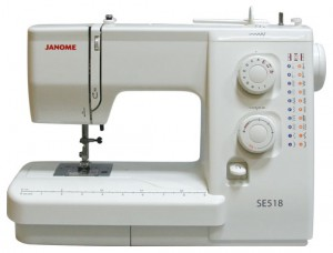 JANOME SE 518, электромеханическая швейная машина