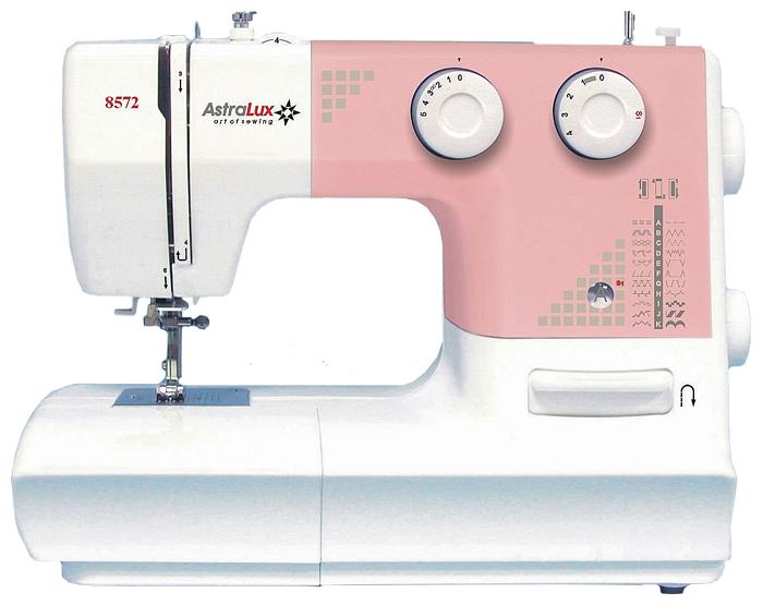 astralux-8572, универсальная швейная машина