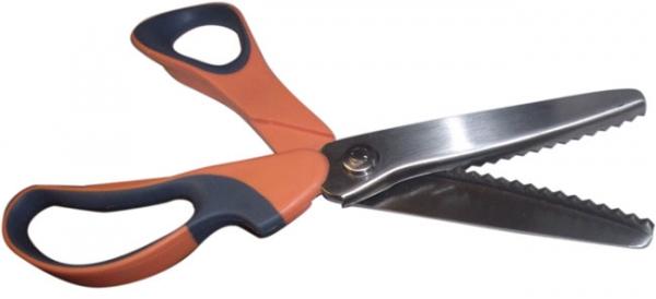 ножницы с зигзагом
