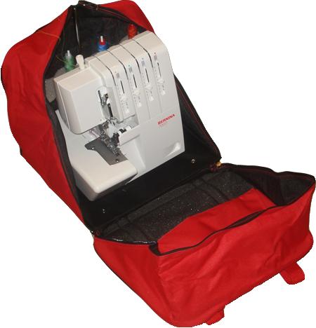 сумка - чемодан для оверлока