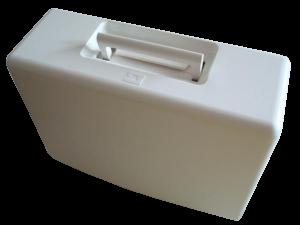 пластковый колпак-чемодан ( футляр) для швейной машины