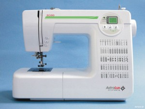 ASTRALUX 9500, компьютеризированная швейная машина