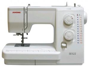 JANOME SE 522, электромеханическая швейная машина