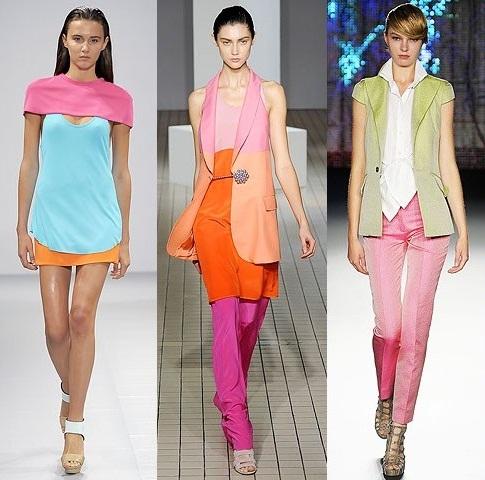 модные цвета одежды