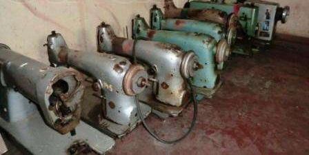Склад поломанных швейных машин 22 класса