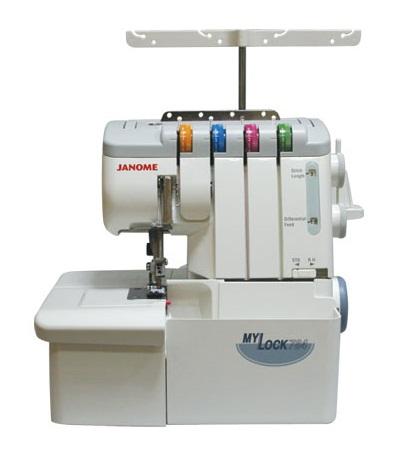 JANOME MyLock 784 D, оверлок бытовой, 2х-3х-4х ниточный