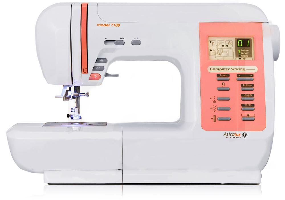 ASTRALUX 7100, компьютеризированная универсальная швейная машина